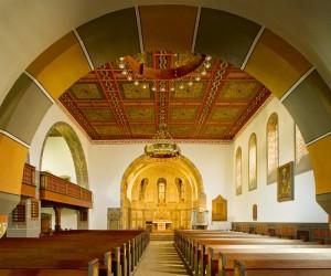 Innenansicht der Christuskirche 2009