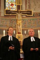 Pfarrer Grönhold, Pfarrer Sänger